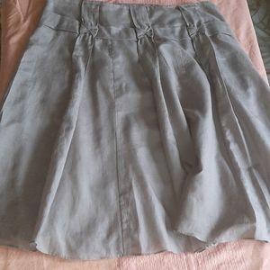 Sandra Augellozzi skirt silk and cotton